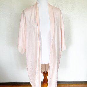 Other - Baby Pink Robe Size S w/ Textured Detail